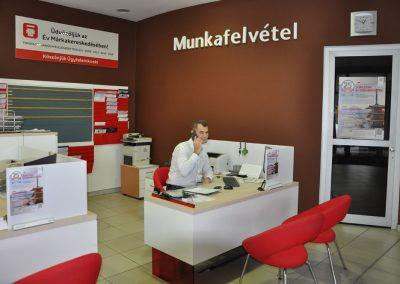A kaposvári Toyota szerviz munkafelvétele