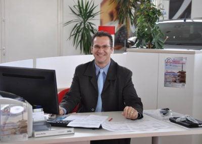 Sziva Attila értékesítő kollégánk örömmel szervezi ügyfeleink tesztútjait