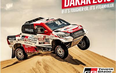 A Dakaron is nyert a Toyota
