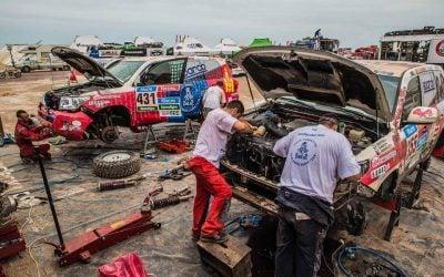 A Koto Autóház a Dakaron