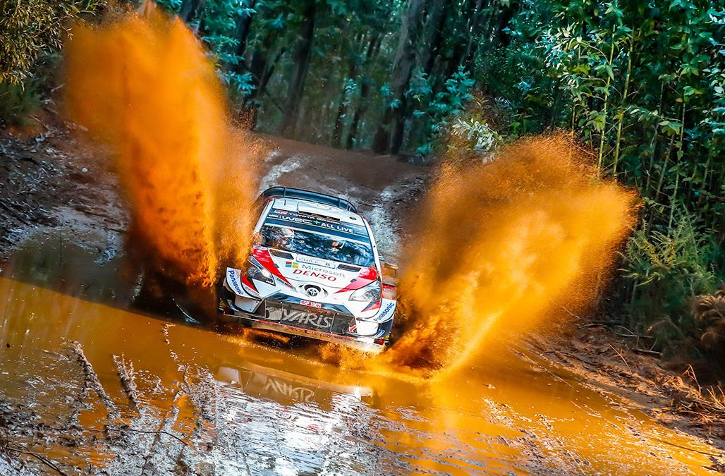 Tänak és a Toyota Yaris győzött a Chile Rallyn