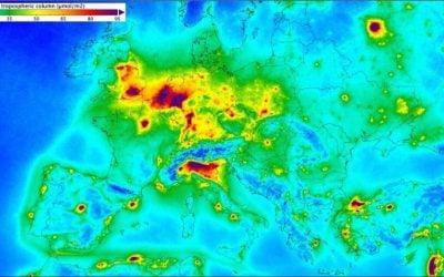 Rekordszinten a légszennyezés Európában