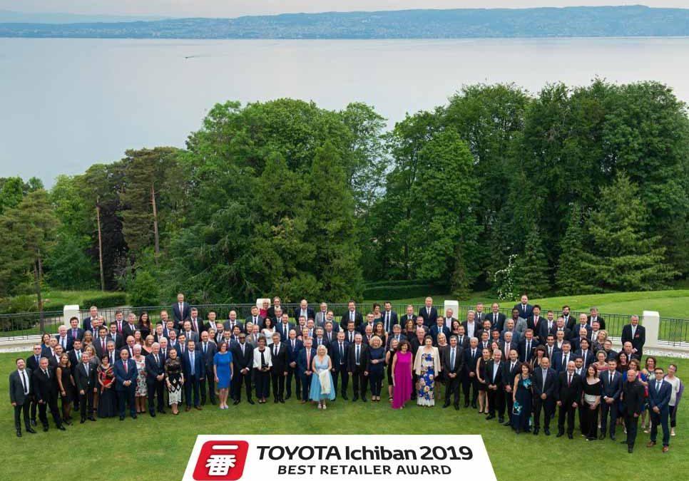 Európában is páratlan, a Koto hatodszor a legjobb Toyota Márkakereskedés