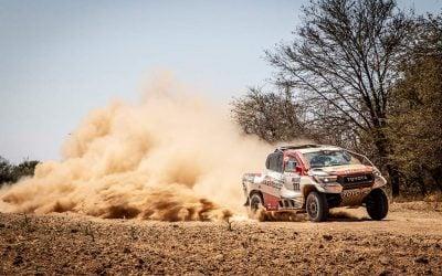 Alonsoék élesben tesztelték a Toyota Hilux-ot
