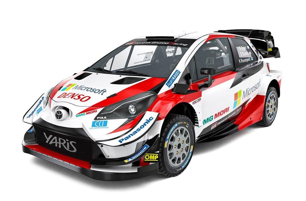 Hétvégén debütál a Toyota új WRC csapata