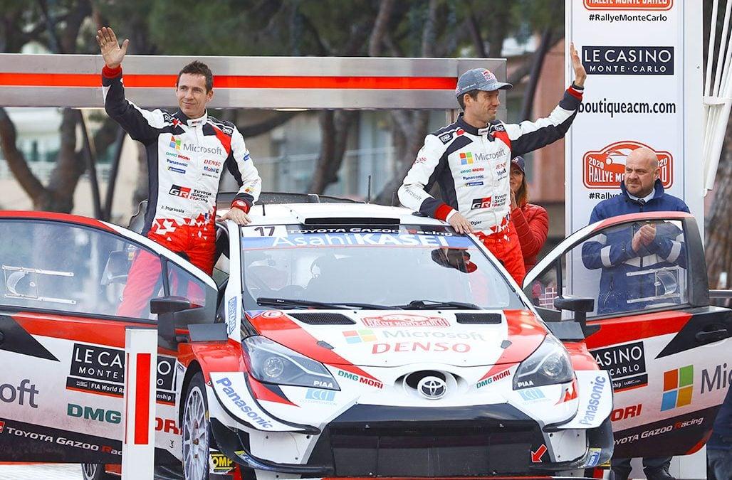Jól indult a WRC szezon a Toyota számára