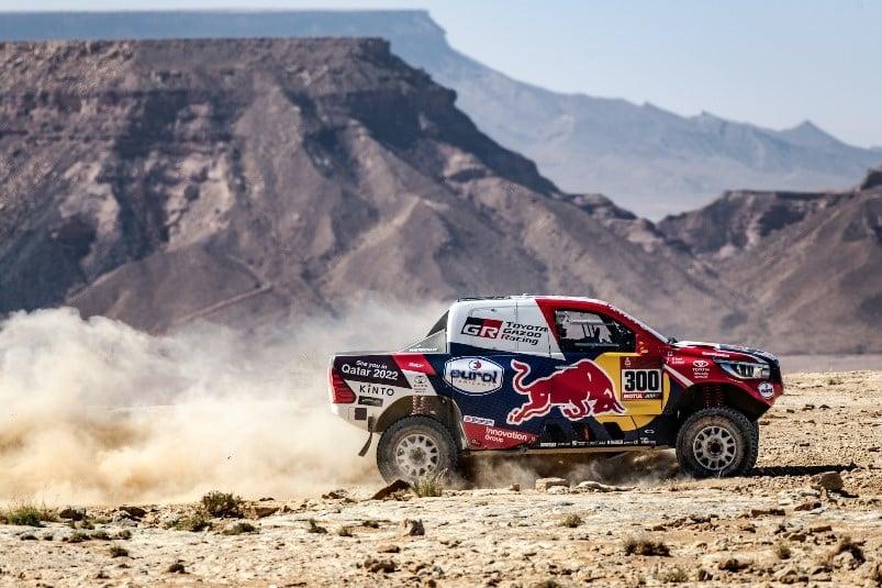 Második lett a Toyota a Dakaron