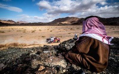 Keményen küzd a Toyota a Dakaron
