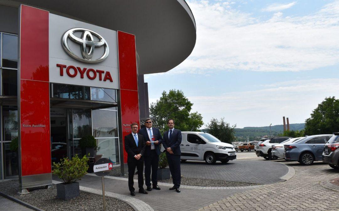 2020-ban is a Koto Autóház nyerte a Toyota Ichiban vevőelégedettségi díját