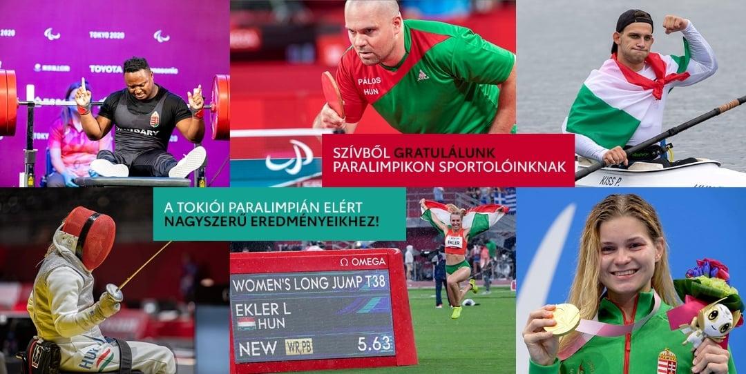 Történelmi sikert ért el a paralimpiai csapat Tokióban